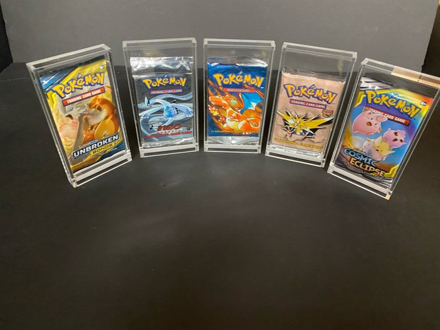 Pokemon Acrylic Booster Pack Display (60004)