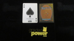 (1) Ace of Spades Yaquinto Playing Card