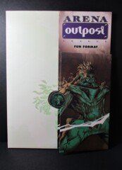 Arena Outpost Fun Format Folder with Paperwork
