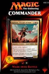 2015 Wade into Battle Commander Deck SEALED