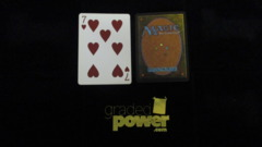 (1) Seven of Hearts Yaquinto Playing Card