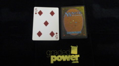 (1) Five of Diamonds Yaquinto Playing Card