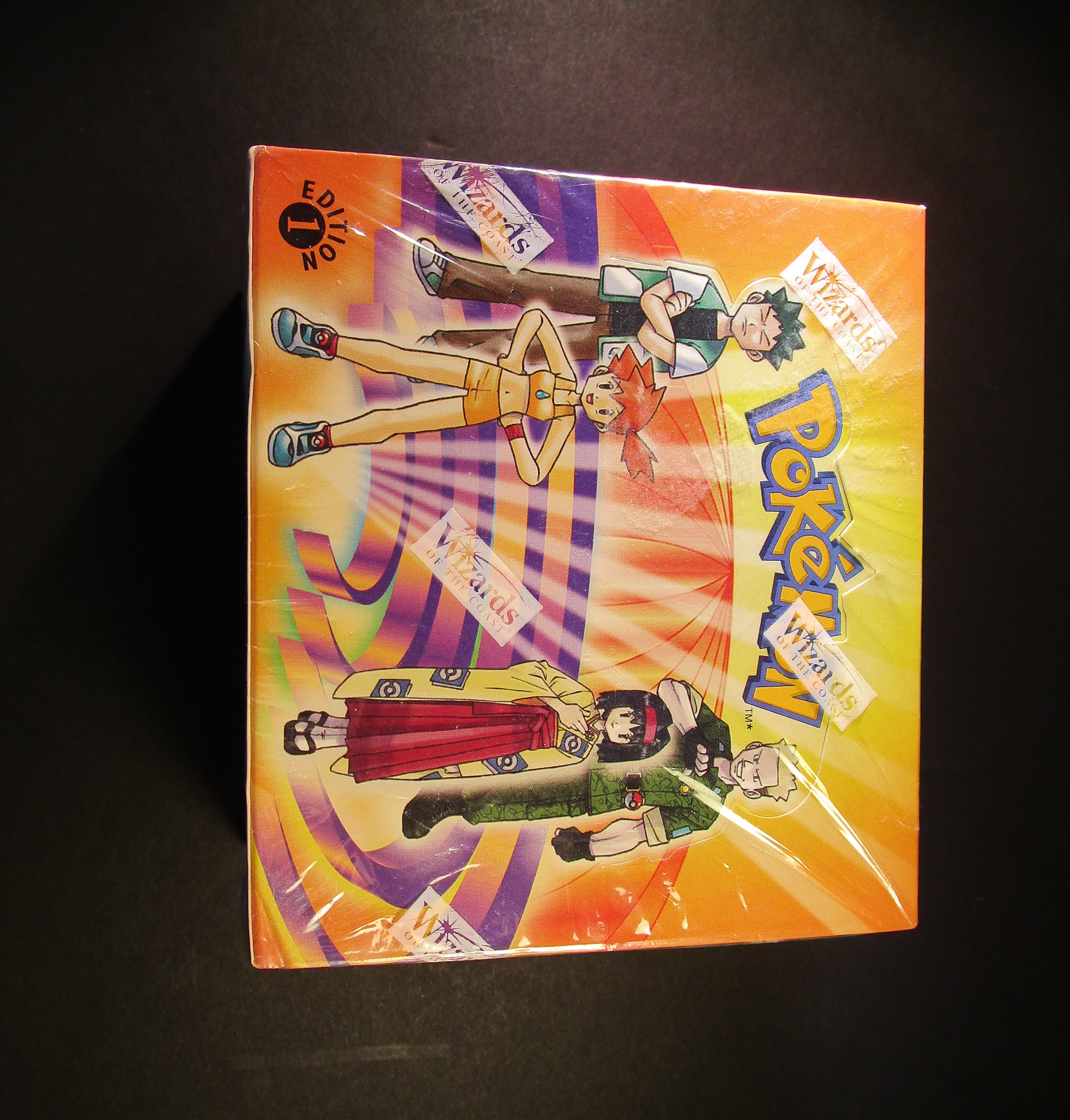 Gym Heroes 1st Edition Booster Box Sealed (ME)