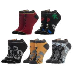 Magic the Gathering (5) pack of Mix and Match Socks NEW