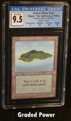 Island (Blue Sky) CGC 9.5