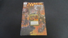 Magic the Gathering Spell Thief Comic Book #4 Breath of Malfegor SEALED