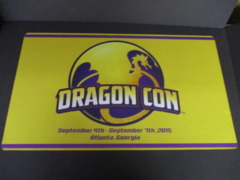 Dragon Con 2015 Playmat NM