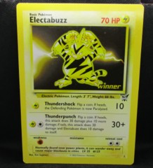 ELECTABUZZ Oversize Card Best Winner Promo LP