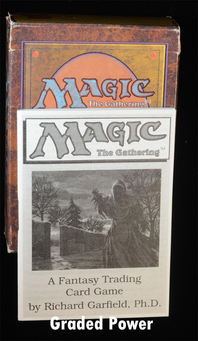 MTG Ice Age Starter Deck Box Magic the Gathering Empty Instruction book No Cards