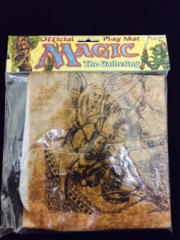 Magic the Gathering official playmat Khalsa Brain Games Factory Sealed