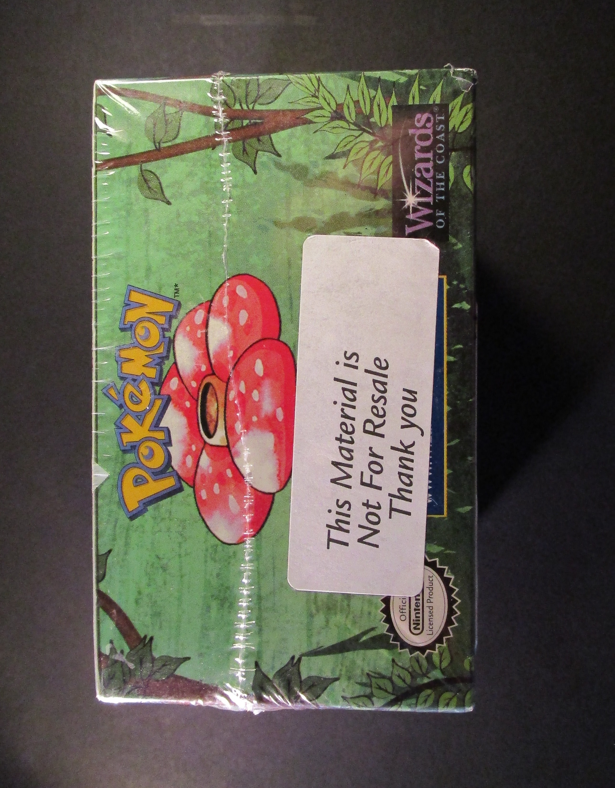 Jungle 1st  Edition Booster Box Sealed Damaged (ME)