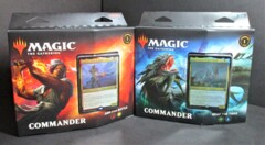 Commander Legends Reap the Tides and Arm for Battle Deck Pair