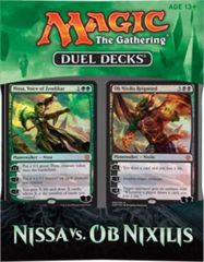 Nissa vs Ob Nixilis Duel Decks SEALED