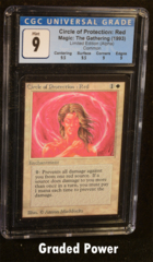 Circle of Protection: Red CGC 9 Quad ++