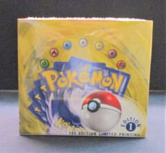 Base Set 1st Edition Booster Box LIMITED PRINTING SEALED