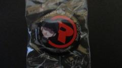 Team Rocket Grunt Tin Badge Button