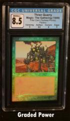 Thran Quarry Filler Card CGC 8.5