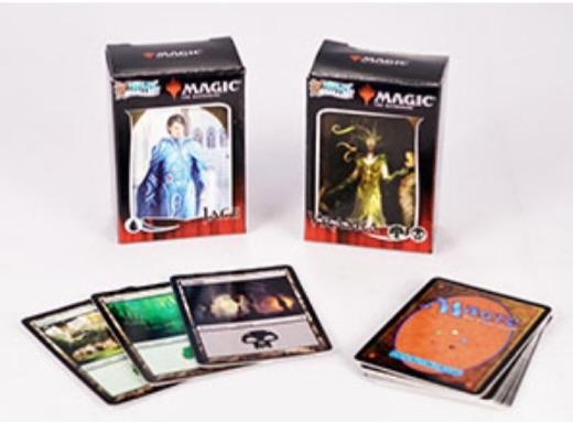 Worlds Smallest Magic the Gathering Cards Jace vs Vraska Duel Decks