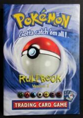 Pokemon Rule Book Version 3 NM