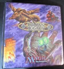 MTG Urza's Legacy 3-Ring Binder W/ Inserts