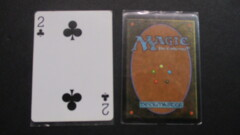 (1) Two of Clubs Yaquinto Playing Card