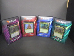 2019 Commander Set (4 Decks) SEALED