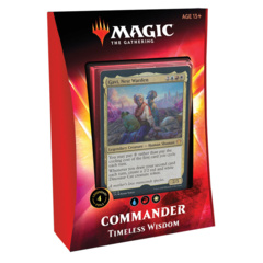 2020 Timeless Wisdom Commander Deck SEALED