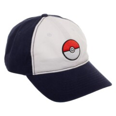 Pokeball Color Block Dad Hat