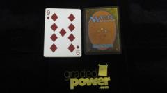 (1) Nine of Diamonds Yaquinto Playing Card