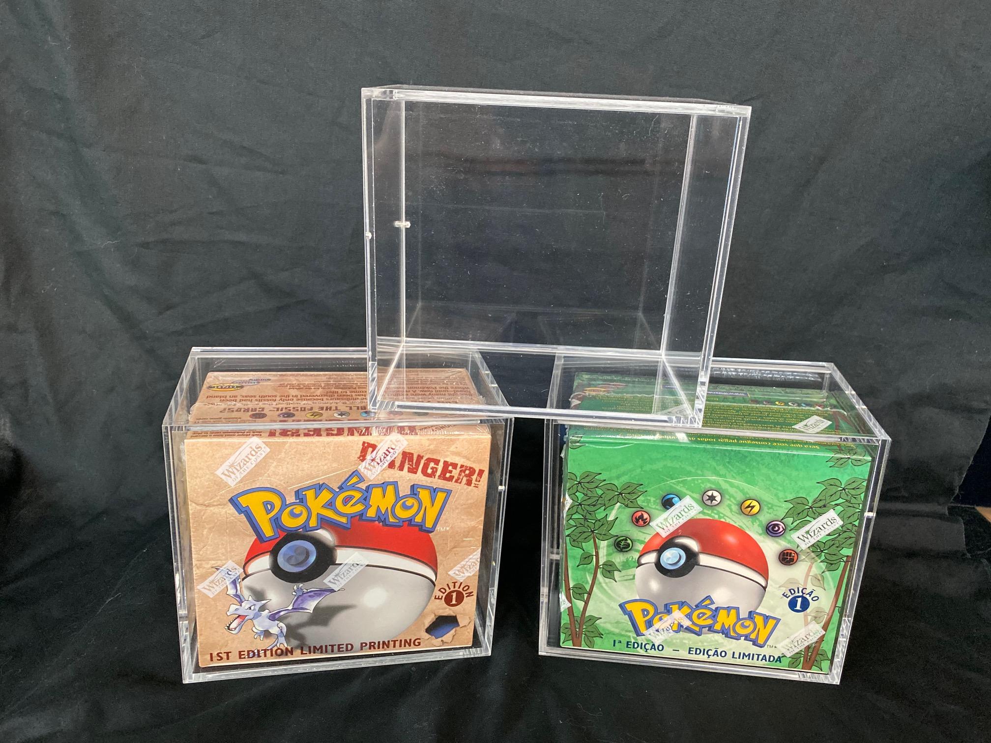 Pokemon 5x Acrylic Booster Box Display (60012)
