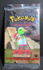 Neo Discovery 1st Edition Xatu Artwork Booster Pack Unweighed