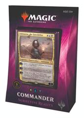 2018 Subjective Reality Commander Deck SEALED