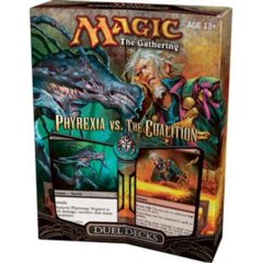 Phyrexia vs The Coalition Duel Decks SEALED