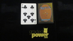(1) Seven of Clubs Yaquinto Playing Card