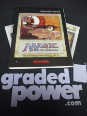 Magic the Gathering WOTC Instruction Manual LP