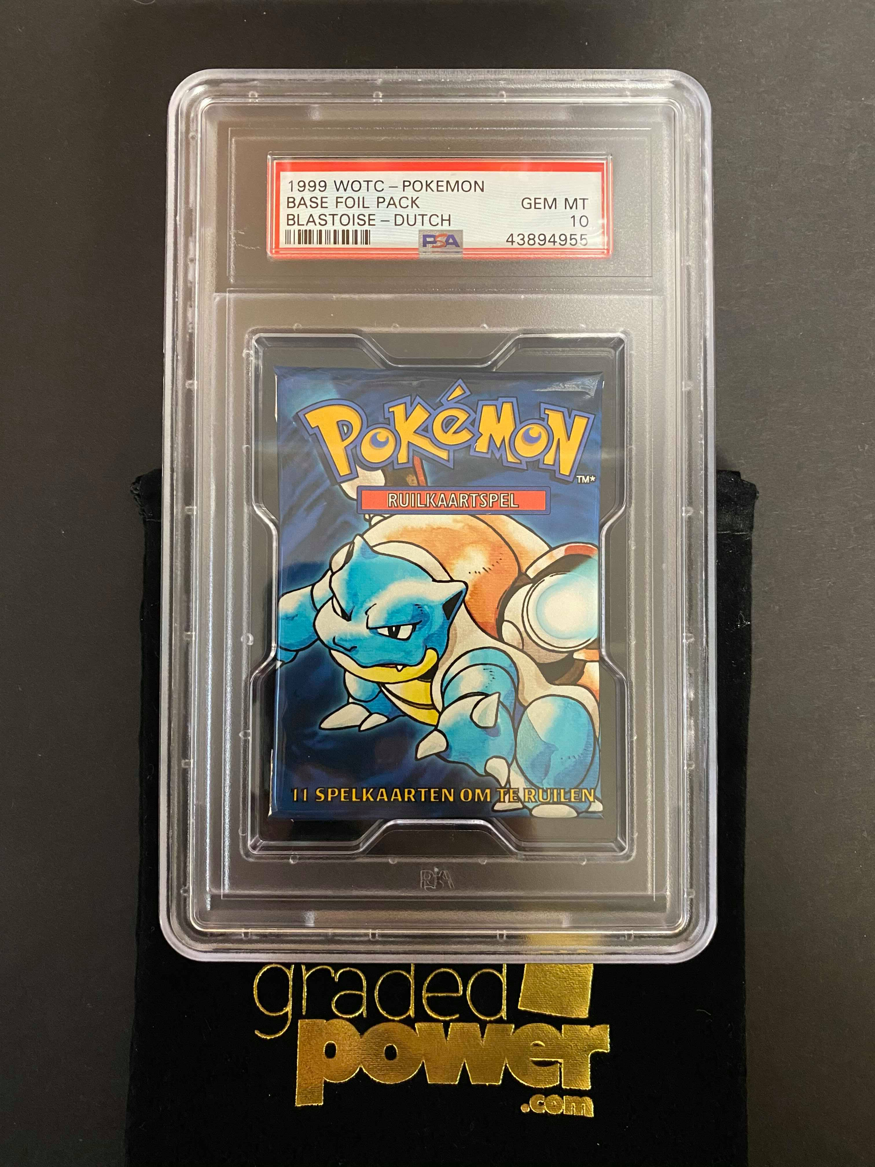 WOTC Pokemon Base Set Sealed Booster Packs 1999 very rare X 3 full set