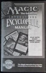 Magic the Gathering Encyclopedia Instruction Manual for P.C.