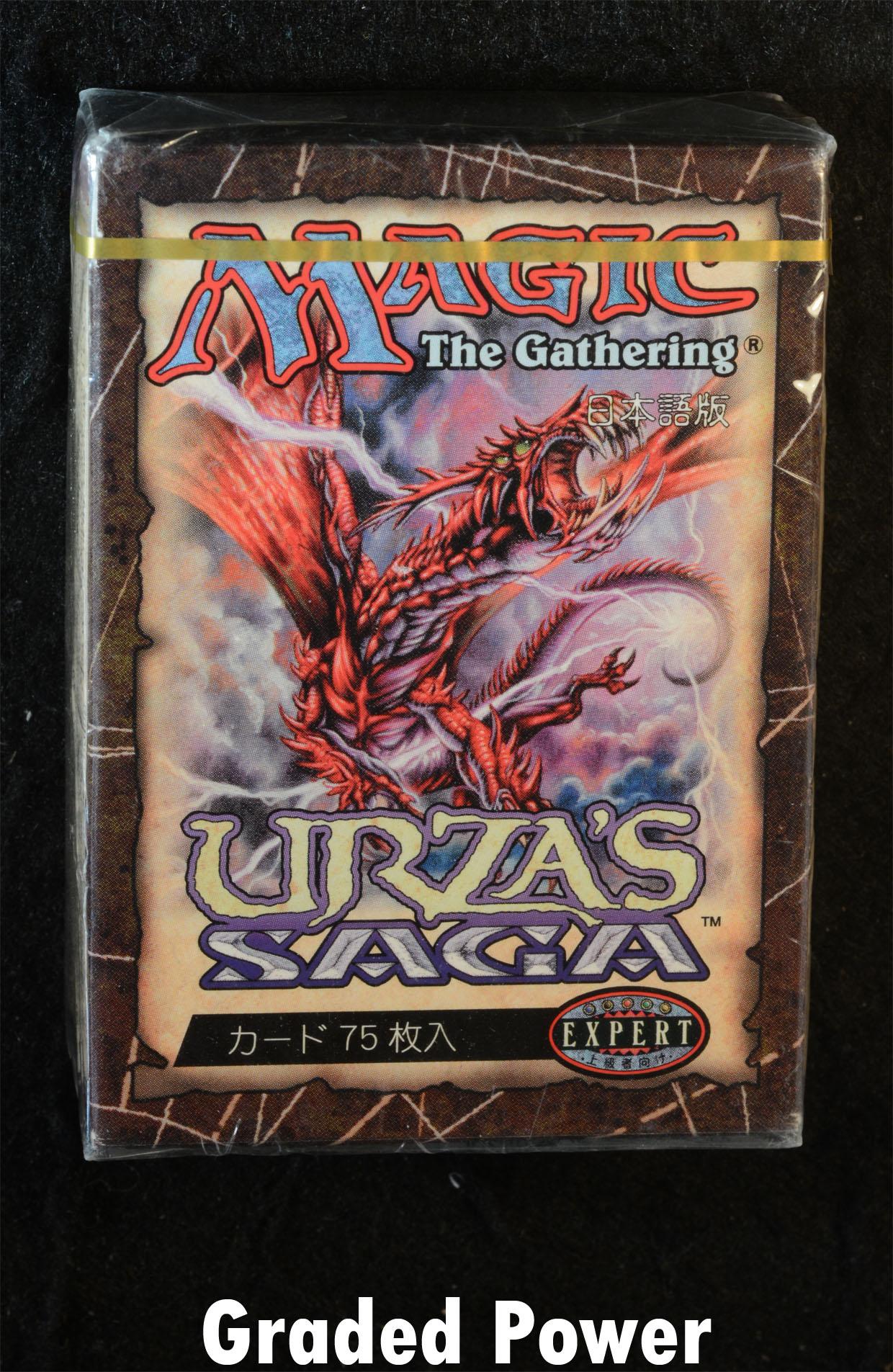 FACTORY SEALED NEW MAGIC ABUGames ENGLISH Urza/'s Saga Theme Deck The Plague
