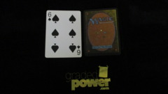 (1) Six of Spades Yaquinto Playing Card