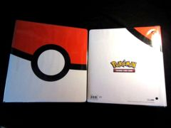 Two (2) Ultra Pro Pokemon Pokeball 3 Ring Binders 2 Inches Wide