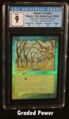 Gaeas Cradle Square Cut Filler Card CGC 9