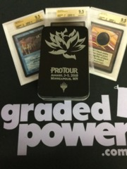 ProTour 2018 Black Lotus Tin w/ Card Sleeves and Dice