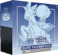 Chilling Reign Elite Trainer Box (Ice Rider Calyrex) SEALED