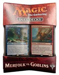 Merfolk vs Goblins Duel Decks SEALED