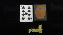 (1) Nine of Clubs Yaquinto Playing Card
