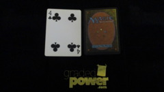 (1) Four of Clubs Yaquinto Playing Card