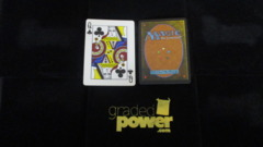 (1) Queen of Clubs Yaquinto Playing Card