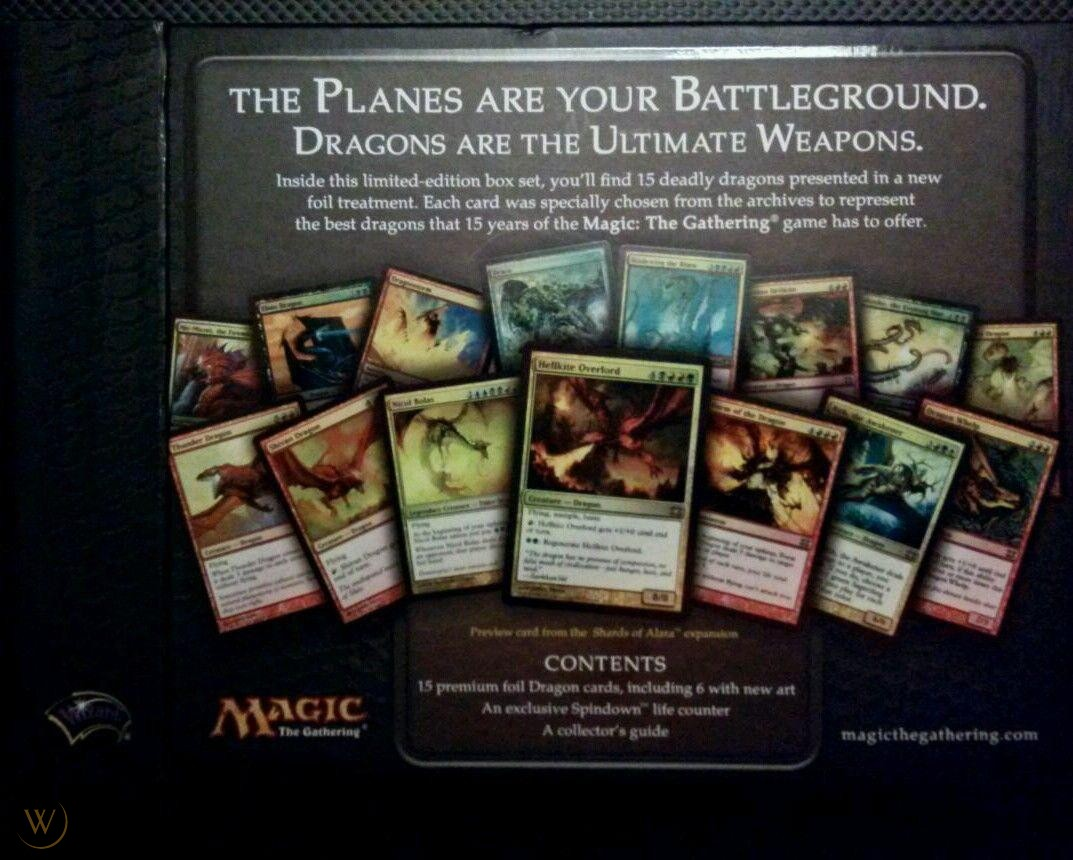 From the Vault Dragons Box Set SEALED