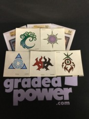Ravnica Allegiance (5) piece Decal Sticker Set
