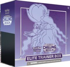 Chilling Reign Elite Trainer Box (Shadow Rider Calyrex) SEALED